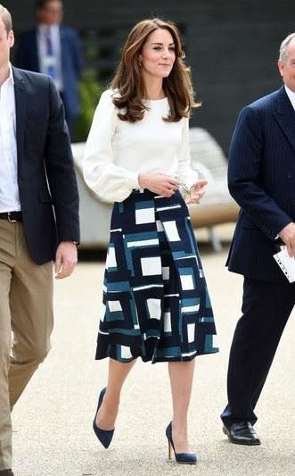 Kate Middleton office outfit
