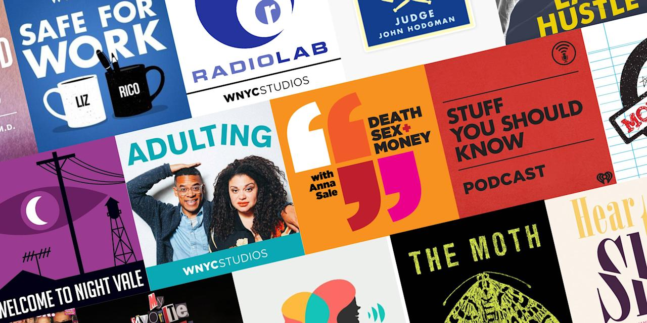 "<p>If you've never explored the wonderful <a href=""https://www.goodhousekeeping.com/uk/lifestyle/editors-choice-book-reviews/a576581/best-books-podcasts-for-book-lovers/"" target=""_blank"">world of podcasts</a>, get ready to meet your new favorite down-time distraction. Similar to talk radio shows, they generally consist of a host or hosts who discuss subject material, interview guests, tell stories, or some combination thereof. Many have theme or background music, and regular commercials by sponsors, just like radio or TV programs. Podcasts can make excellent audio entertainment while you're working on mindless tasks, commuting, cleaning, cooking, or doing anything that doesn't require your full attention. Pop on your headphones whenever you need to dip into someone else's world. </p><p>The best podcasts come in a whole range of genres, from comedy podcasts to storytelling, <a href=""https://www.goodhousekeeping.com/life/entertainment/g27009615/best-true-crime-podcasts/"" target=""_blank"">true crime podcasts</a> and cooking shows, cleaning and organization, interview podcasts, sports, history, and even more. Some of your favorite radio shows like This American Life also have their own podcasts, and news organizations put out podcasts to supplement their written or visual material, too. Length can also vary widely. Short podcasts can be just 10-15 minutes long, while long podcasts can stretch over a couple of hours. Because the medium has grown in popularity over the last decade or so, the field of podcasts can get overwhelming. We've waded through and found some of our favorites for both podcast beginners and dedicated listeners who need something new and exciting to add to their queue.</p>"