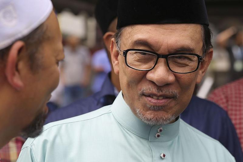"Datuk Seri Anwar Ibrahim and his allies would like to believe that he is the face of this ""Malaysia Baharu"", or ""New Malaysia"", and that his incarceration over a trumped-up sodomy charge fuelled public anger to vote out Barisan Nasional. — Picture by Yusof Mat Isa"
