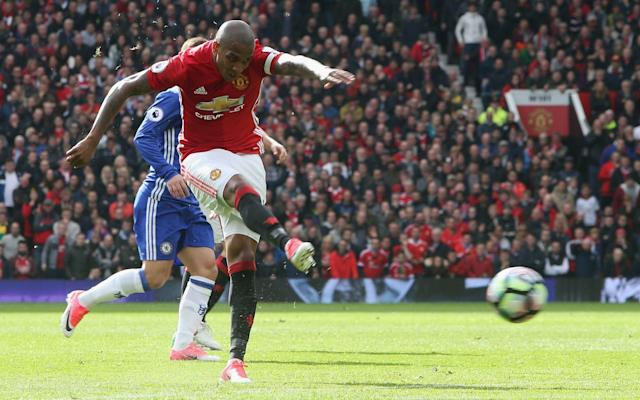 <span>Ashley Young insists United expected to beat Chelsea</span> <span>Credit: getty images </span>