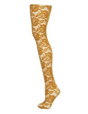 "<div class=""caption-credit""> Photo by: Photo courtesy of Topshop.com</div><div class=""caption-title""></div>MUSTARD FLOWER LACE TIGHTS, $12, TOPSHOP.COM"