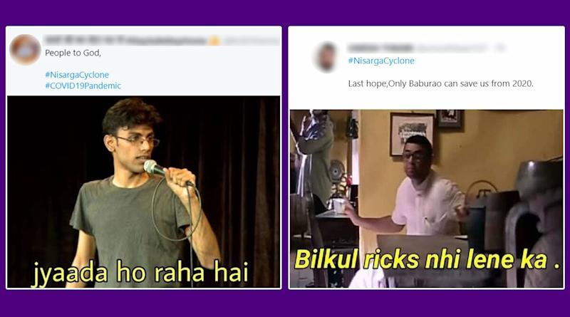 Nisarga Cyclone Funny Memes and Jokes Take Over Twitter; Pandemic-Hit Mumbaikars Use Humour to Battle the Cyclonic Threat