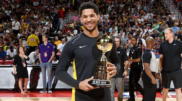 The Lakers were the talk of Las Vegas once again, with Josh Hart often proving to be the top talent on the court. Who else stood out? The Crossover picks the most intriguing players at 2018 Summer League.