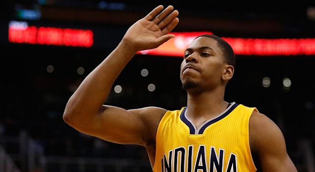 "<a class=""link rapid-noclick-resp"" href=""/nba/players/5351/"" data-ylk=""slk:Glenn Robinson III"">Glenn Robinson III</a> averaged 4.1 points and 1.6 rebounds last season. (AP)"