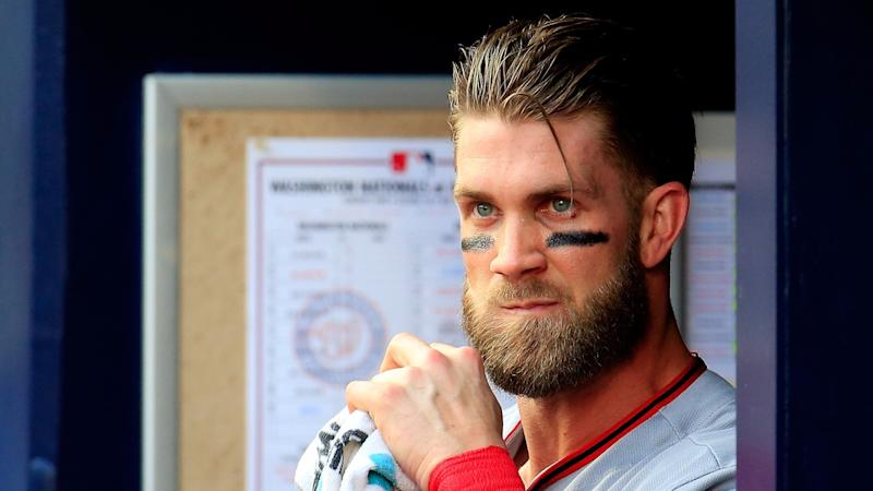 Bryce Harper, a losing player? Check the standings. (AP)