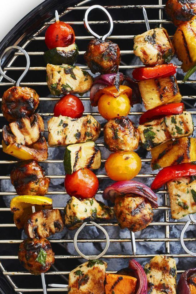 "<p>You may want to make double of these juicy lemon chicken kebabs because they're going to be swiped off of the grill before you can even say ""Bon Appétit."" </p><p><em><a href=""https://www.womansday.com/food-recipes/a32884878/chicken-kebabs-recipe/"" rel=""nofollow noopener"" target=""_blank"" data-ylk=""slk:Get the Chicken Kebabs recipe."" class=""link rapid-noclick-resp"">Get the Chicken Kebabs recipe.</a></em></p>"