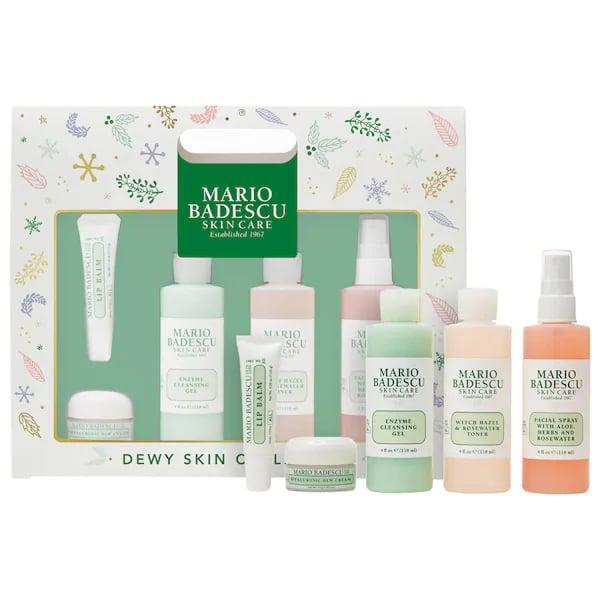 <p>Um, who wouldn't be down for dewy skin?! The challenge here is deciding which loved one would most appreciate this <span>Mario Badescu Dewy Skin Collection</span> ($35) to start a new beauty regimen.</p>
