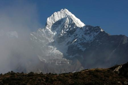 FILE PHOTO: A general view of Mount Thamserku as seen from Khumjung village at the Mount Everest area in Nepal