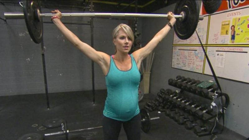Calif. Woman Pumps Iron While Pregnant: Lifting Weights 'Has Made Me Feel Really Confident'