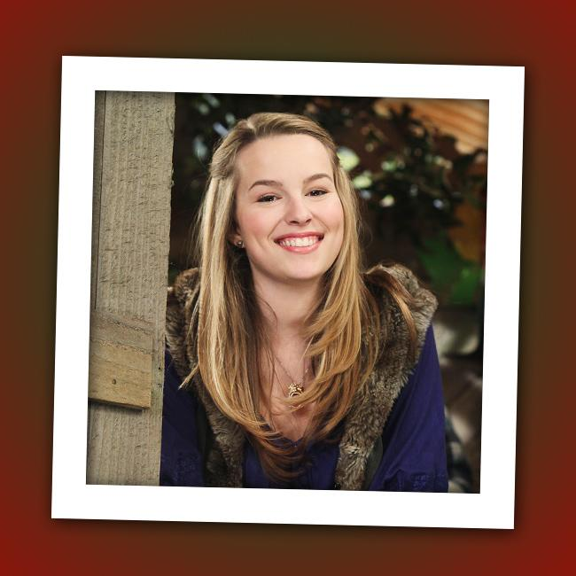 "It's Bridgit Mendler, who stars as Charlie's older sister Teddy in Disney Channel's ""<a href=""http://tv.yahoo.com/good-luck-charlie/show/45316"" rel=""nofollow"">Good Luck Charlie</a>."""