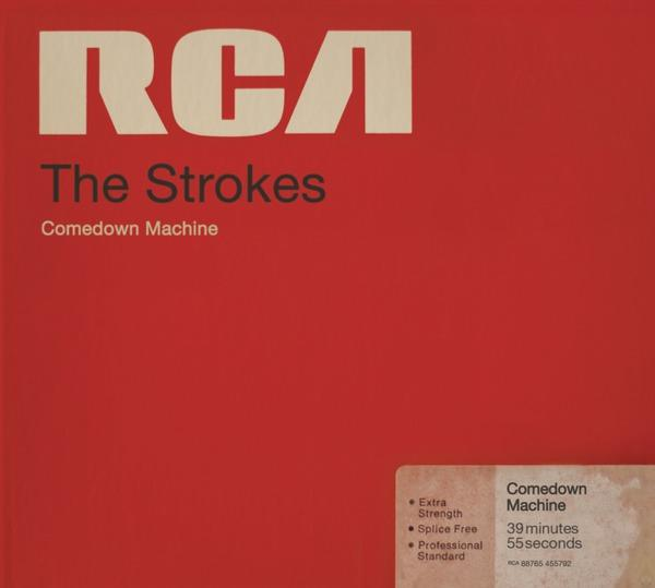 """This CD cover released by RCA shows """"Comedown Machine,"""" by The Strokes. (AP Photo/RCA)"""
