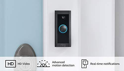 Introducing Ring Video Doorbell Wired – Convenient, essential features in a compact design, p…