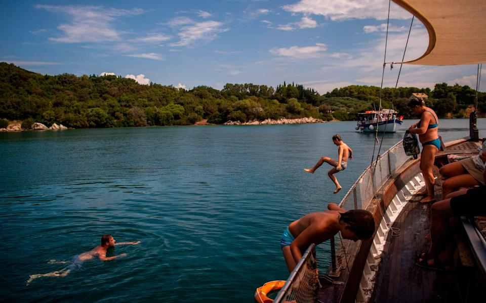 Greece is a hugely popular destination with British tourists - GETTY IMAGES