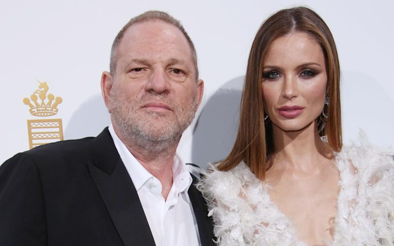 Harvey Weinstein with his wife Georgina Chapman - Copyright (c) 2016 BEimages. No use without permission.