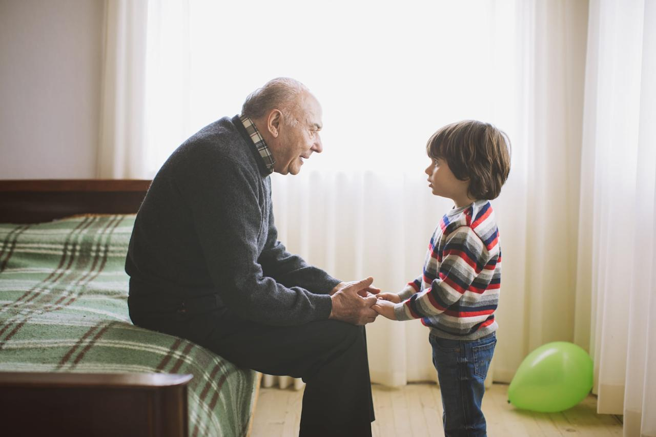 """<p>When in Grandma or Pop-Pop's care, do they tend to poo-poo junior's bad actions or, on the flip side, take on an aggressive discipline approach? This is a tough topic to broach with grandparents. For the grandparents who laugh off your kiddo's bad choices, keep in mind that they may simply feel uncomfortable laying down the law with your child because they're not his or her parents. They want to be the good guys and be loved by your kid.</p> <p><strong>What to Do:</strong></p> <p>If Gran and Gramps <a href=""""https://www.popsugar.com/family/Should-Grandparents-Enforce-Your-Rules-44665893"""" class=""""ga-track"""" data-ga-category=""""Related"""" data-ga-label=""""https://www.popsugar.com/family/Should-Grandparents-Enforce-Your-Rules-44665893"""" data-ga-action=""""In-Line Links"""">can't lay down the law</a> when caring for your kids, ask them to simply give the warning that all consequences will be given out upon your or the other parent's return, that way kids know a consequence is coming and will be delivered, but Gran and Gramps are free of being the bad guy.</p> <p>If you can convince the grandparents to <a href=""""https://www.popsugar.com/family/Rules-Disciplining-Kids-44341210"""" class=""""ga-track"""" data-ga-category=""""Related"""" data-ga-label=""""https://www.popsugar.com/family/Rules-Disciplining-Kids-44341210"""" data-ga-action=""""In-Line Links"""">lay down the law</a>, it would be better. Perhaps ask them to stick to short-term consequences such as time-outs - and then in situations when your kid really acts out, allow them to warn that a further consequence will be handed out upon your return.</p> <p>The overly-aggressive grandparent may simply be the <a href=""""https://www.popsugar.com/family/Grandparents-According-Zodiac-Signs-44521873"""" class=""""ga-track"""" data-ga-category=""""Related"""" data-ga-label=""""https://www.popsugar.com/family/Grandparents-According-Zodiac-Signs-44521873"""" data-ga-action=""""In-Line Links"""">mark of personality</a> or generation. Our generation is not resorting to <a href=""""https://www.popsug"""