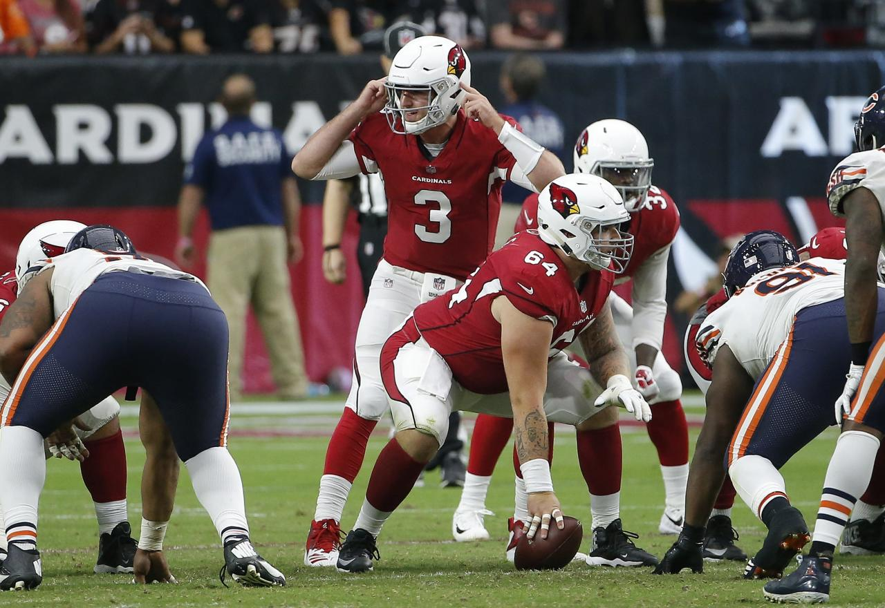 78a7f4d14 Josh Rosen gets in as Sam Bradford struggles vs. Bears