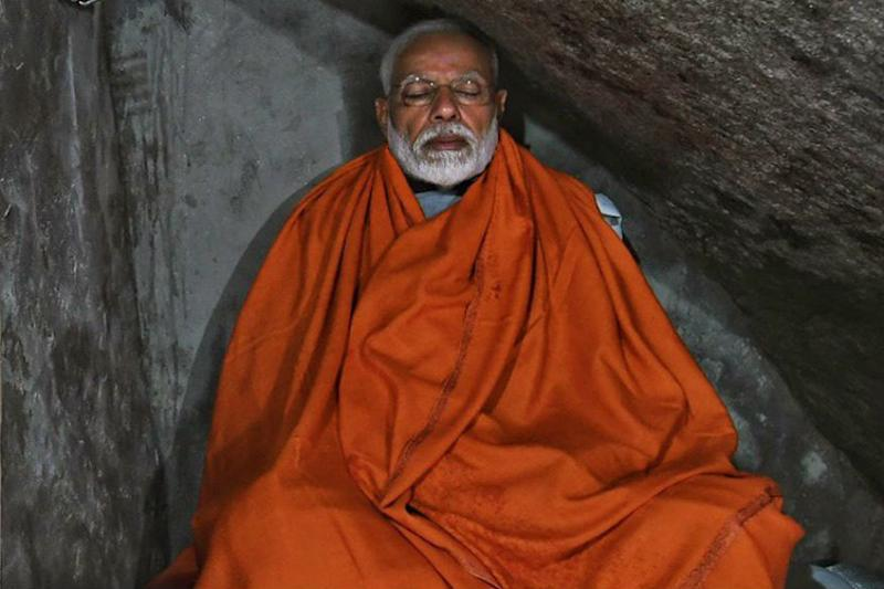 Prayer, Picture, Project Prep: After Hectic Morning in Kedarnath, PM Modi Meditates Inside Holy Cave