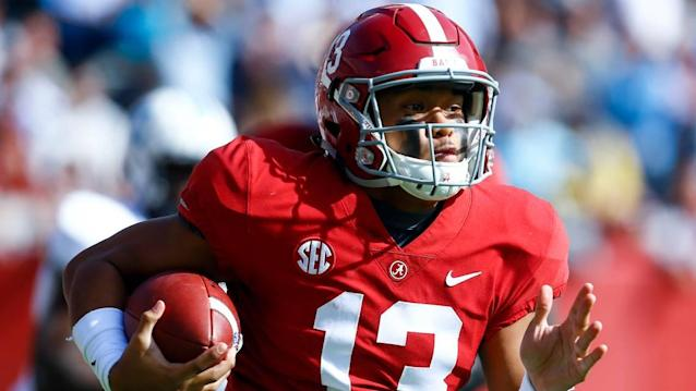 Chris Grier talks Tua, Rosen and perhaps trading up in the first round at Senior Bowl