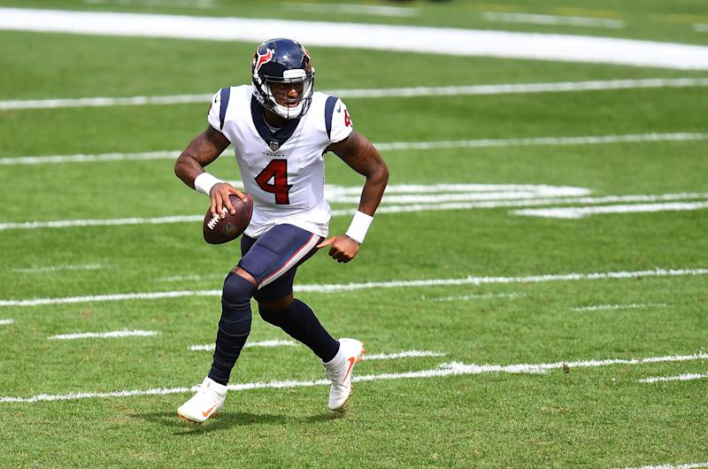 Deshaun Watson #4 of the Houston Texans