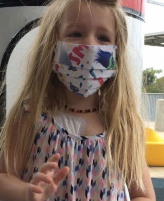 Payton was diagnosed with acute myeloid Leukaemia in early February. Source: Supplied