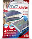 """<p><strong>Spacesaver</strong></p><p>amazon.com</p><p><strong>$19.99</strong></p><p><a href=""""https://www.amazon.com/dp/B07FMD6GMW?tag=syn-yahoo-20&ascsubtag=%5Bartid%7C10063.g.36389311%5Bsrc%7Cyahoo-us"""" rel=""""nofollow noopener"""" target=""""_blank"""" data-ylk=""""slk:Shop Now"""" class=""""link rapid-noclick-resp"""">Shop Now</a></p><p>Part of spring cleaning is packing away all those heavy winter clothes, but finding the space for them can create a separate mess. These vacuum storage bags come with a hand pump to make sure it's easy to eliminate the air from the bags.</p>"""