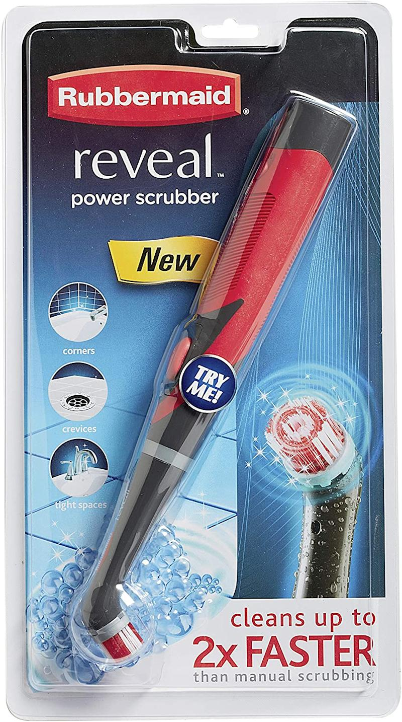 Rubbermaid Reveal Power Scrubber.