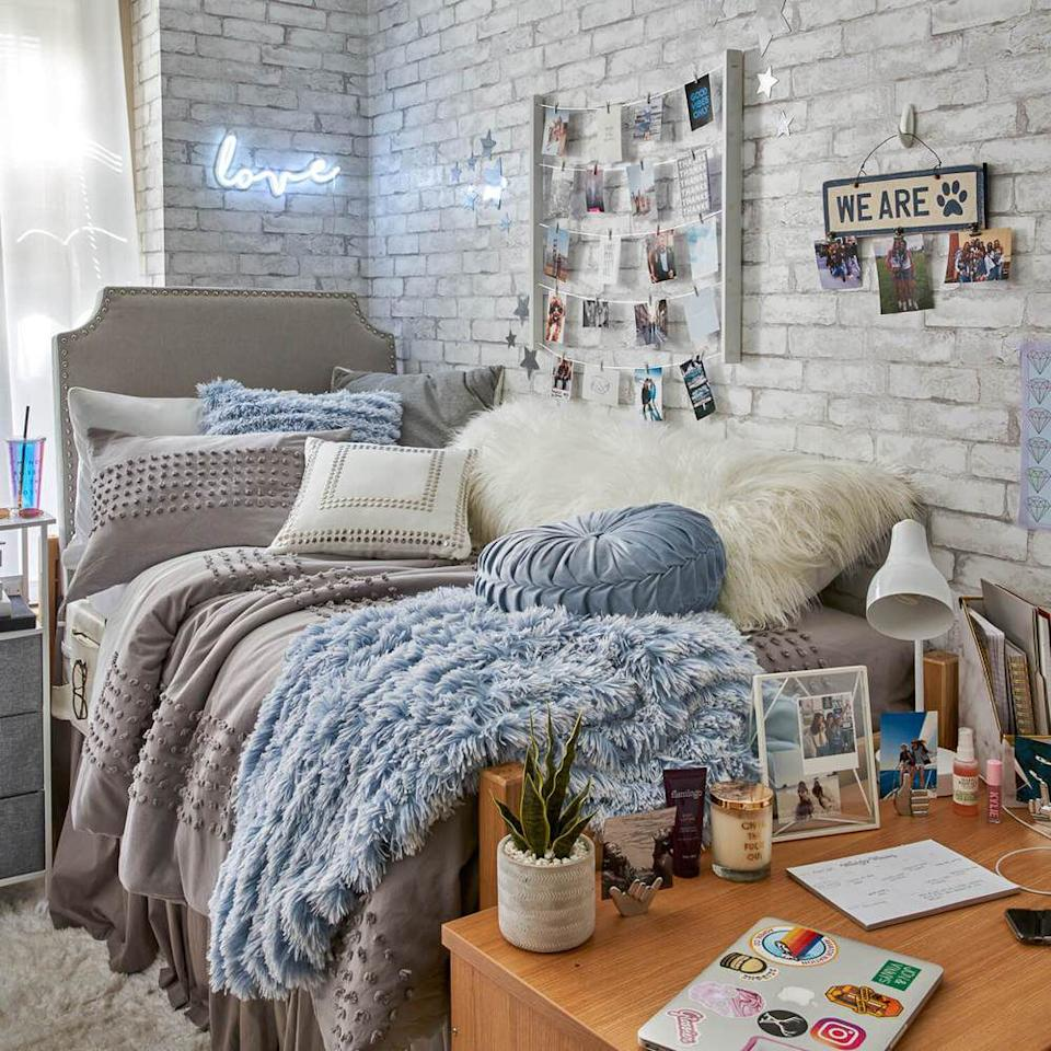 Here S How To Add A Stylish Headboard To Any Boring Dorm