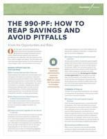 For more information about filing the 990-PF, visit here.
