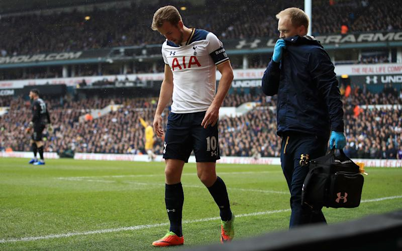 Kane looked set for a long spell on the sidelines but is back in training - PA Wire/PA Images