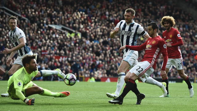 Manchester United West Brom Premier League