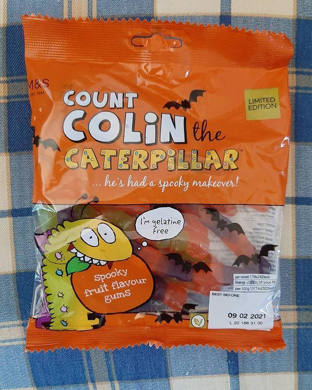 "<p>Count Colin also came in sweet form. Yum.</p><p><a href=""https://www.instagram.com/p/CFkD5KkgeA2/"" rel=""nofollow noopener"" target=""_blank"" data-ylk=""slk:See the original post on Instagram"" class=""link rapid-noclick-resp"">See the original post on Instagram</a></p>"