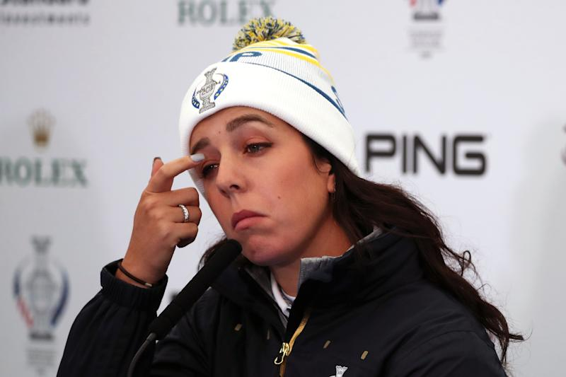 Team Europe's Georgia Hall is ready for the challenge of her second Solheim Cup appearance