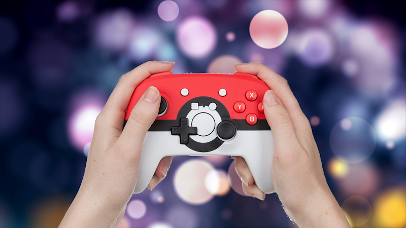 This Nintendo Switch wireless controller featuring your favorite Pokémon Poké ball is now nearly 25 percent off. (Photo: PowerA)