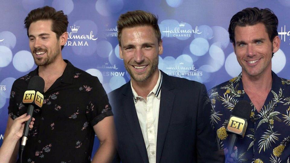 Who Are the Hallmark Hunks? Meet 5 Stars Ready to Sweep You Off Your Feet (on TV)