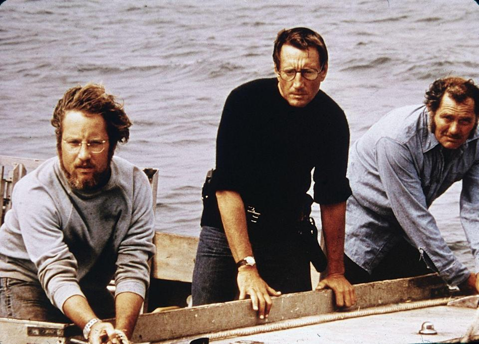 <p><strong><em>Jaws</em></strong></p><p>The original book may have been about a Long Island town, but this blockbuster film about a killer Great White Shark was set on the quaint Massachusetts island of Martha's Vineyard, and has kept thousands of people out of the ocean for years. </p>