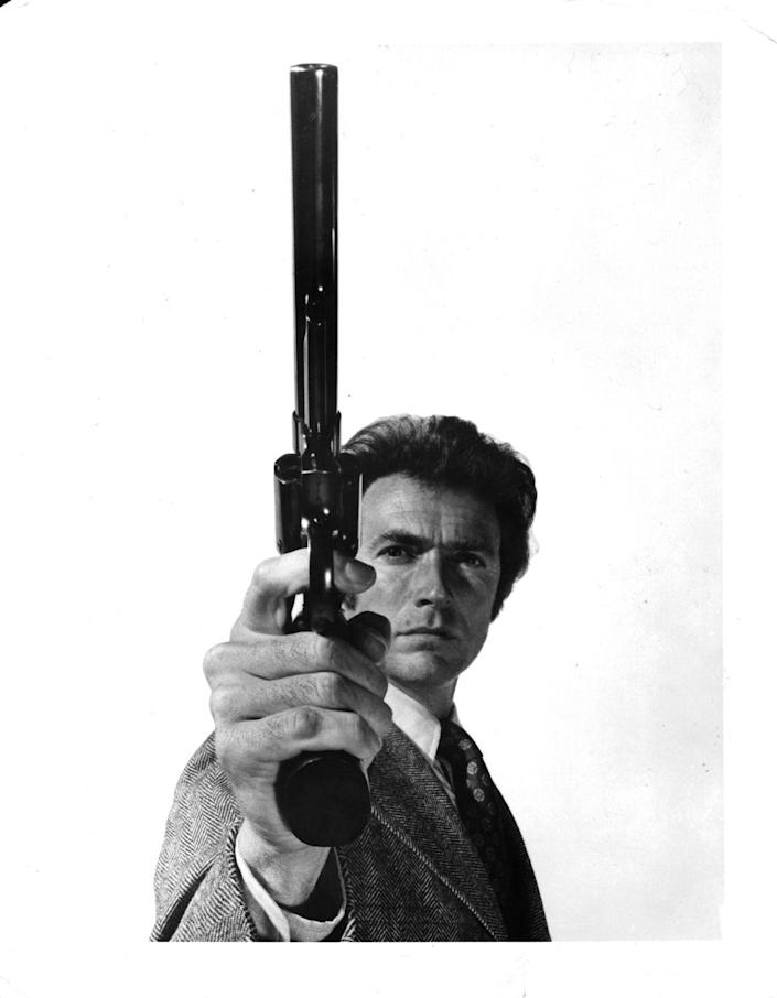 """<p>""""Dirty"""" Harry Callahan is still one of <a href=""""https://www.esquire.com/entertainment/g32267325/clint-eastwood-life-in-photos/"""" rel=""""nofollow noopener"""" target=""""_blank"""" data-ylk=""""slk:Clint Eastwood's"""" class=""""link rapid-noclick-resp"""">Clint Eastwood's</a> most well-known roles to date. The film, which premiered in 1971, was so successful it was turned into a franchise series and the role quickly <a href=""""https://www.bfi.org.uk/features/clint-90-how-dirty-harry-sealed-eastwoods-superstardom"""" rel=""""nofollow noopener"""" target=""""_blank"""" data-ylk=""""slk:earned Eastwood recognition"""" class=""""link rapid-noclick-resp"""">earned Eastwood recognition</a> as one of Hollywood's greats. </p>"""