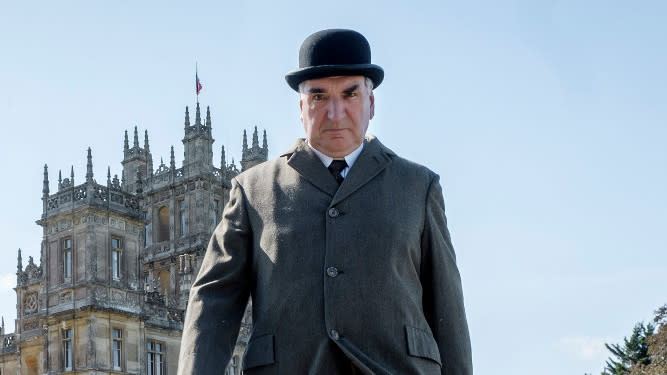 Jim Carter as Carson in the 2019 'Downton Abbey' movie. (Credit: Universal)