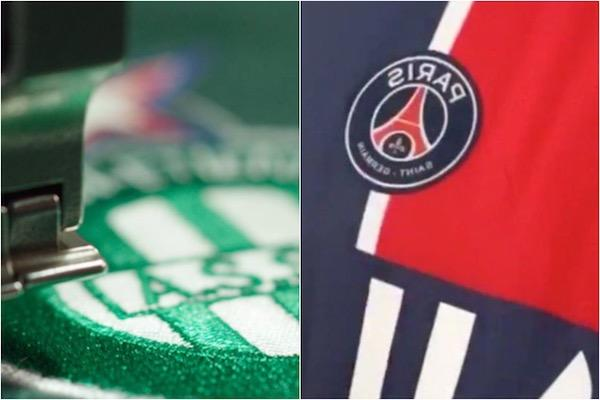 ASSE PSG maillots
