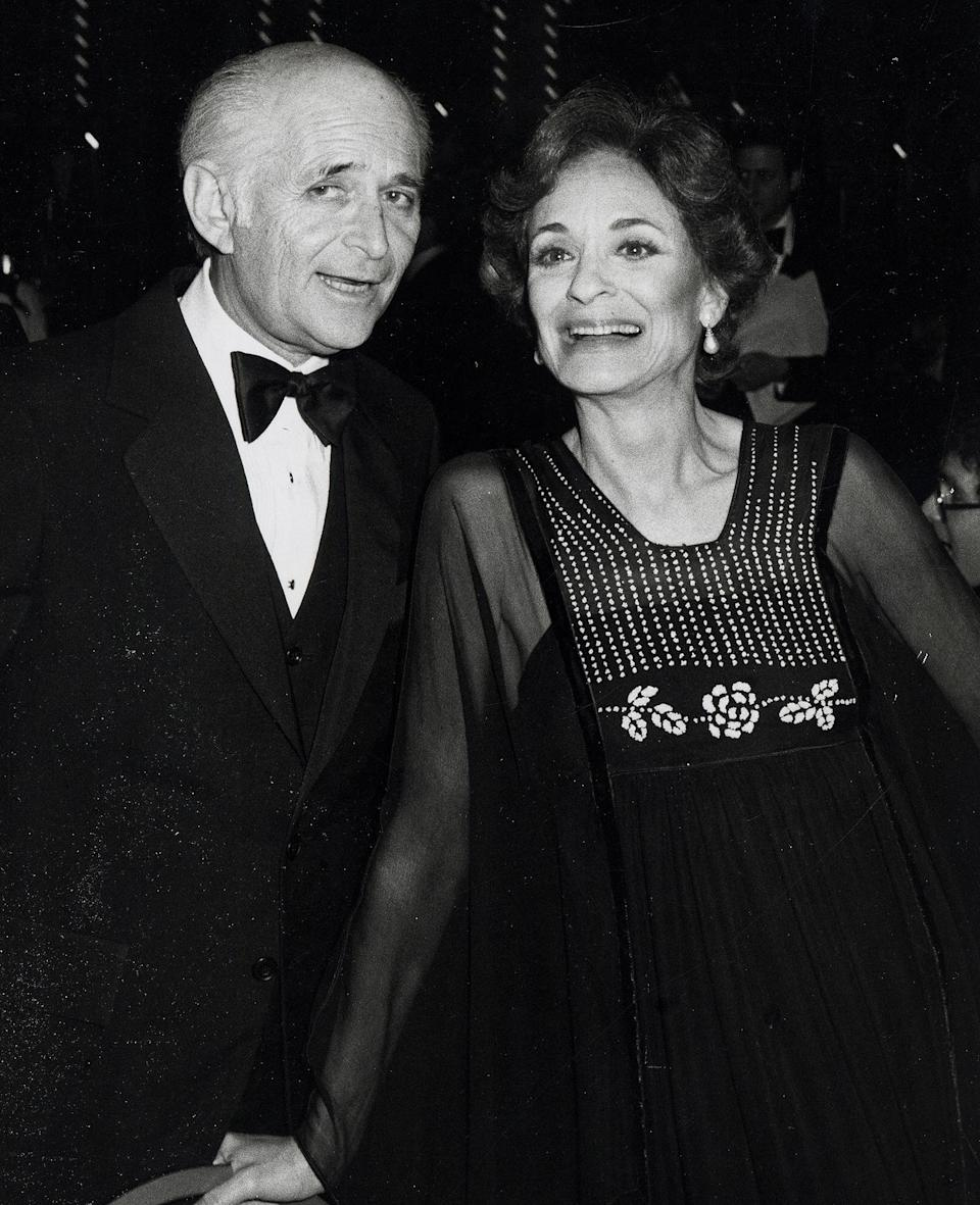 """<p>From 1956 to 1985, Lear was wed to Frances, with whom he has two daughters, Kate and Maggie. After the pair's split, <a href=""""https://people.com/archive/frances-lear-vol-38-no-2/"""" rel=""""nofollow noopener"""" target=""""_blank"""" data-ylk=""""slk:Frances launched a women's magazine"""" class=""""link rapid-noclick-resp"""">Frances launched a women's magazine</a> called <em>Lear's</em> and <a href=""""https://www.chicagotribune.com/news/ct-xpm-1992-06-07-9202200633-story.html"""" rel=""""nofollow noopener"""" target=""""_blank"""" data-ylk=""""slk:penned a book"""" class=""""link rapid-noclick-resp"""">penned a book</a> about her life, <em>The Second Seduction, </em>though wrote little of her ex, with whom she said she remained cordial.</p> <p>However, she did write that """"the name and face and voice and character and personality of a Hollywood wife-of are so often unnoticed, not listened to, not admired, that in time she feels she does not exist,'' giving a glimpse into how she felt while married to her producer husband during those early years of his fame.</p> <p>When the pair officially divorced in 1986, Frances walked away with a $112 million settlement. </p> <p>Lear's first marriage, to Charlotte Rosen from 1943 to 1956, also ended in divorce and produced one child, daughter Ellen.</p>"""