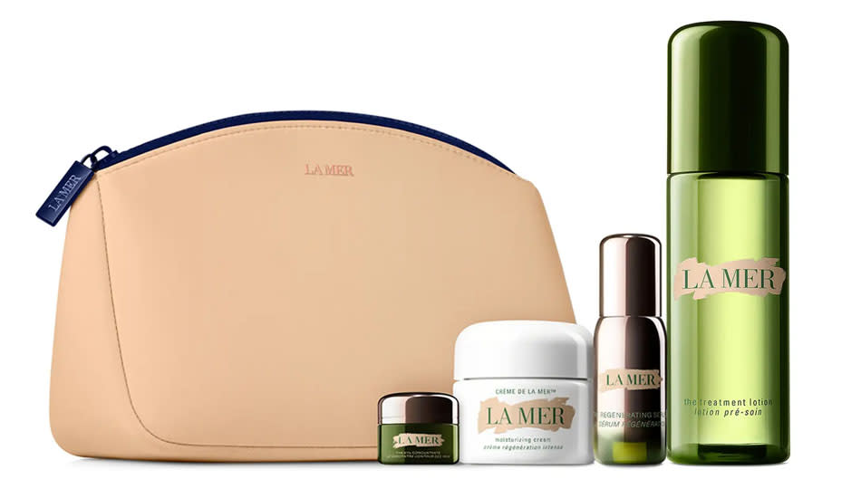 The Travel Size Crème La Mer Set is a sampling of one of your favorite skincare brands. (Photo: Nordstrom)