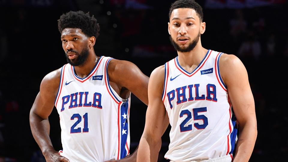Comments made by Joel Embiid about 76ers teammate. Ben Simmons may have contributed to the Australian star's request for a trade. (Photo by Jesse D. Garrabrant/NBAE via Getty Images)