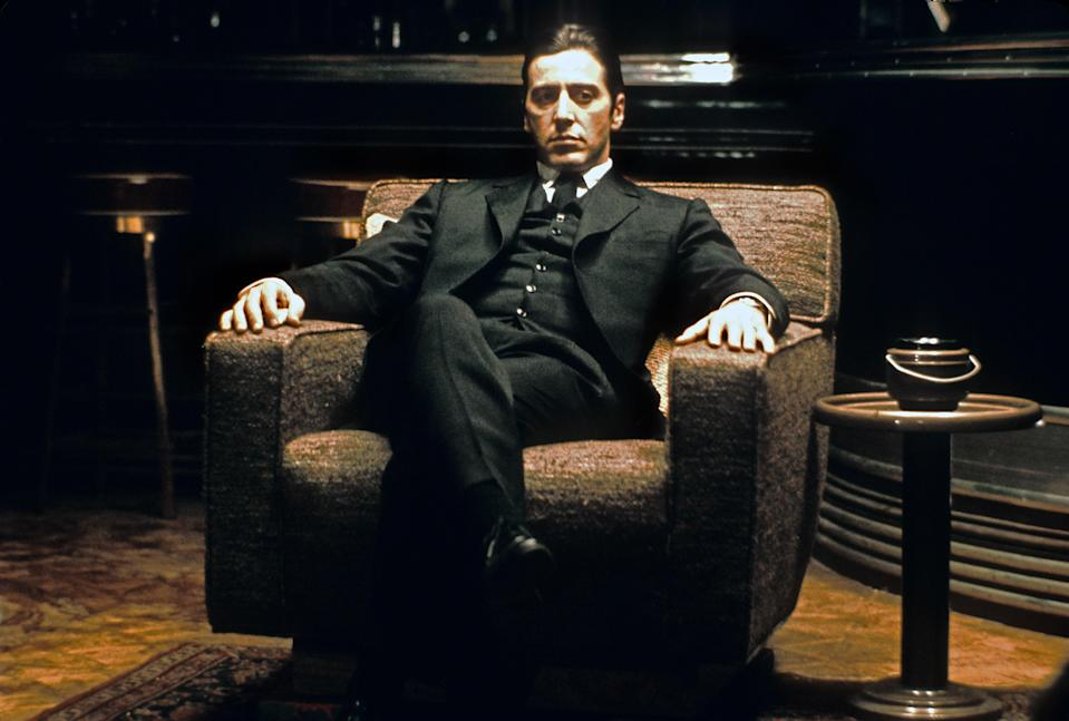 """<p>Many film buffs hold up <em>The Godfather Pt. II</em> as a sequel that may just be better than the film that preceded it. I mean, it's hard to argue with Robert de Niro (as the young Don Corleone) and Al Pacino (Michael Corleone) in the same film. I love the way it plays with time between the current boss and the flashbacks to how the family came to power in the first place. Now, <em>The Godfather Pt. III</em>? Maybe we just don't talk about that one. — <em>AG</em></p> <p><a href=""""https://www.amazon.com/Godfather-Part-II-Al-Pacino/dp/B001GJ5AOU/ref=sr_1_1?dchild=1&keywords=The+Godfather%2C+Part+II&qid=1592942147&s=instant-video&sr=1-1"""" rel=""""nofollow noopener"""" target=""""_blank"""" data-ylk=""""slk:Stream on Amazon Prime Video"""" class=""""link rapid-noclick-resp""""><em>Stream on Amazon Prime Video</em></a></p>"""