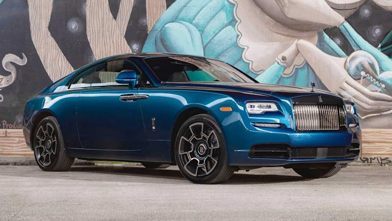 Rolls-Royce Wraith Black Badge: Feature