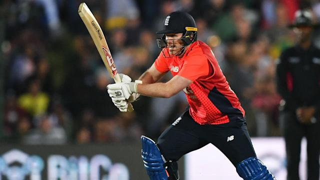 Eoin Morgan was upbeat, despite England's agonising loss against South Africa on Wednesday.