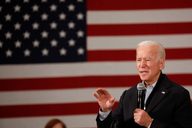 Democrat Biden's plan would raise taxes from U.S. companies that pay little