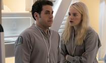 <p>Emma Stone and Jonah Hill reunite for the first time since Superbad </p>