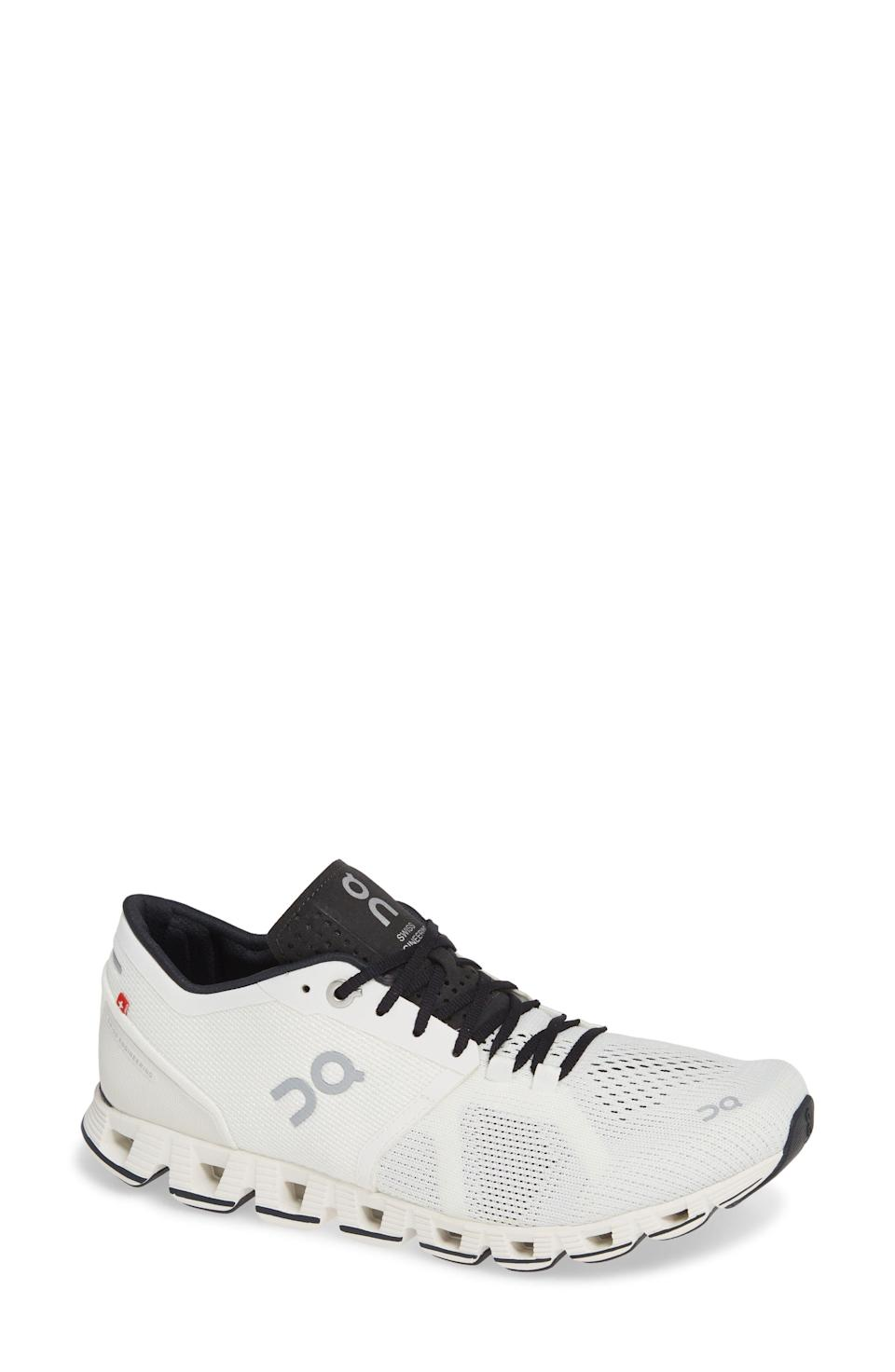 """<p><strong>ON</strong></p><p>nordstrom.com</p><p><strong>$139.95</strong></p><p><a href=""""https://go.redirectingat.com?id=74968X1596630&url=https%3A%2F%2Fwww.nordstrom.com%2Fs%2Fon-cloud-x-running-shoe-women%2F5139766&sref=https%3A%2F%2Fwww.countryliving.com%2Fshopping%2Fgifts%2Fg1416%2Fvalentines-day-gifts%2F"""" rel=""""nofollow noopener"""" target=""""_blank"""" data-ylk=""""slk:Shop Now"""" class=""""link rapid-noclick-resp"""">Shop Now</a></p><p>These running shoes are a great gift for the athletes. The name says it all. Your partner will appreciate this gift on their next run or workout. </p>"""