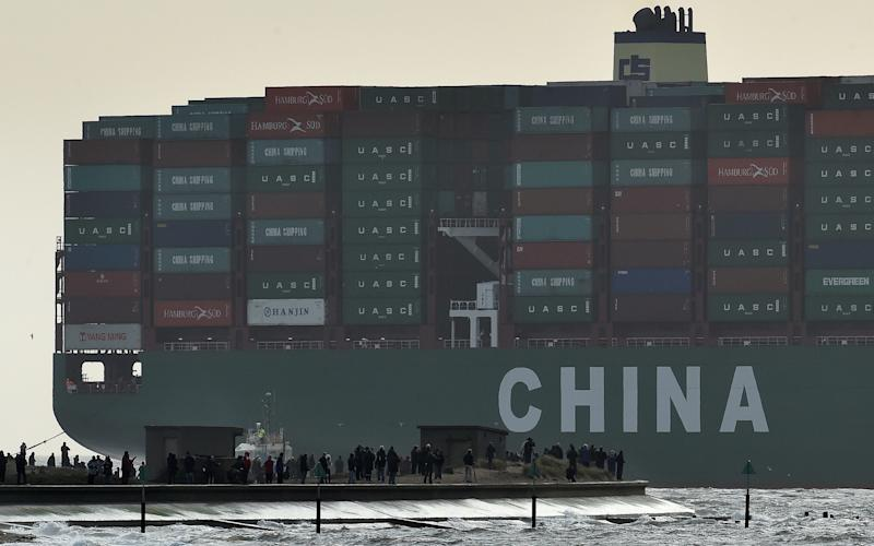 China was the origin of 20pc of goods imported by the EU - Toby Melville