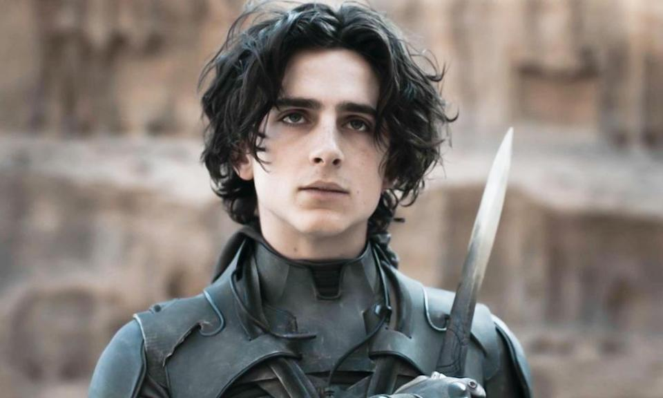 Timothée Chalamet (pictured in Dune) and Tom Holland have been linked to the lead role in Wonka.