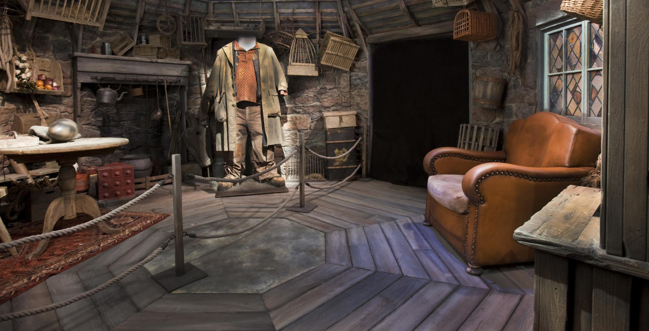 Beginning 2 June, visitors of the Artscience Museum at Marina Bay Sands (MBS) will be swept away into the famous wizard's magical world with Harry Potter. They can step into wonderfully detailed settings inspired by film sets, such as this recreation of the interior of Hagrid's hut.